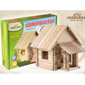 конструктор з дерева заміський будинок