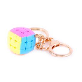 Брелок кубик Рубіка 3х3 YJ кольоровий