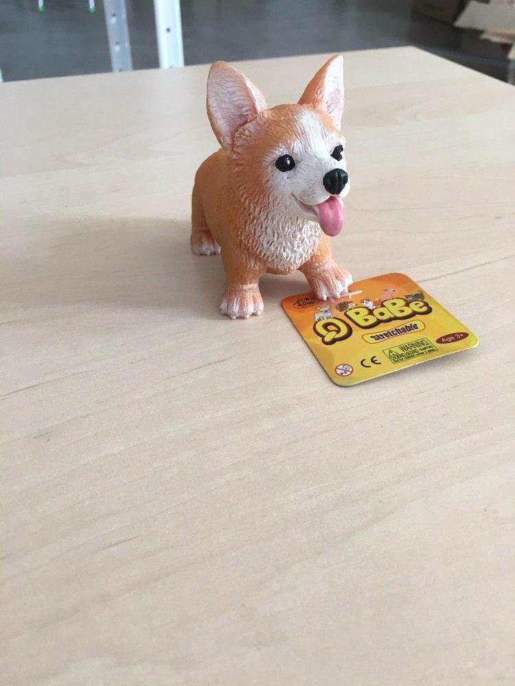 Игрушка для рук собачка тянучка