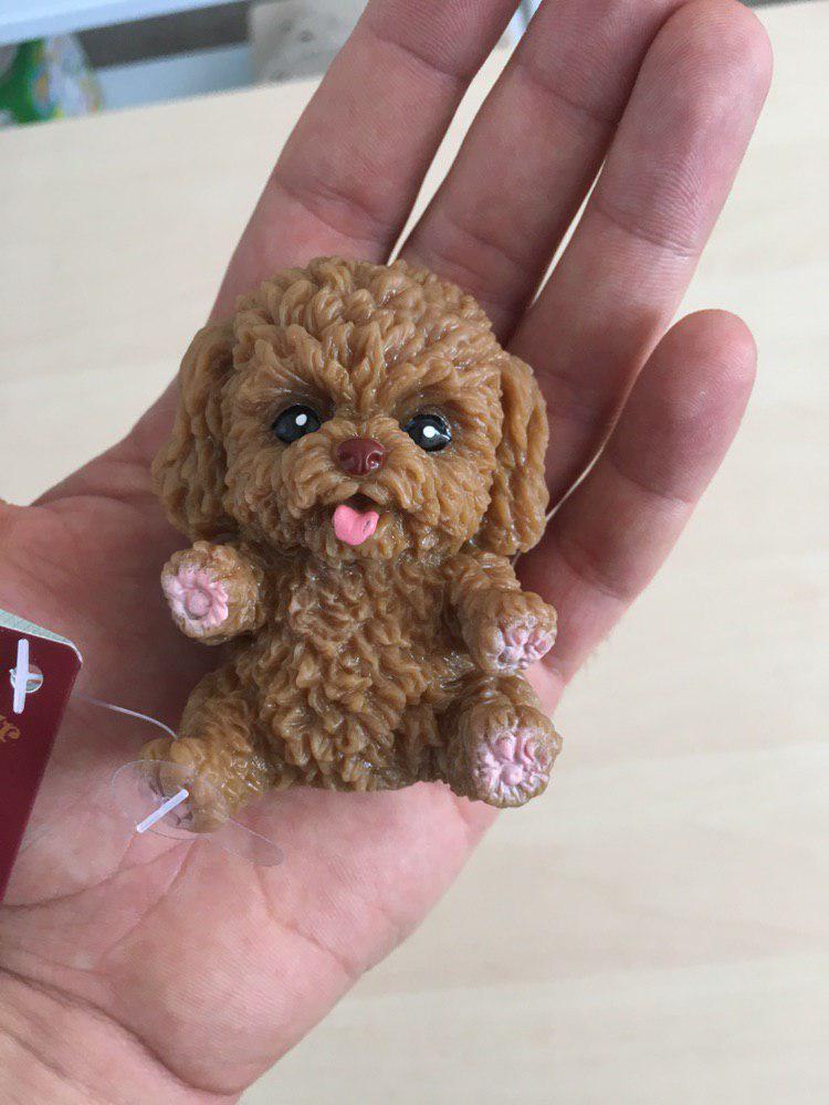 Антистресс игрушка собачка (коричневая)