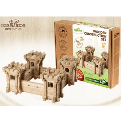 Деревянный конструктор Игротеко замок