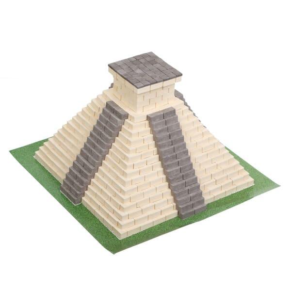 Конструктор из мини кирпичиков пирамида Майя