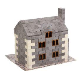 конструктор з міні цегли англійський будинок