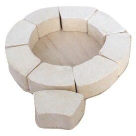 Фигурные кирпичики керамического конструктора Gravik