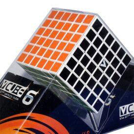 Кубик Рубіка 6x6 V-CUBE білий плоский2