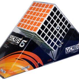 Кубик Рубіка 6x6 V-CUBE білий плоский1
