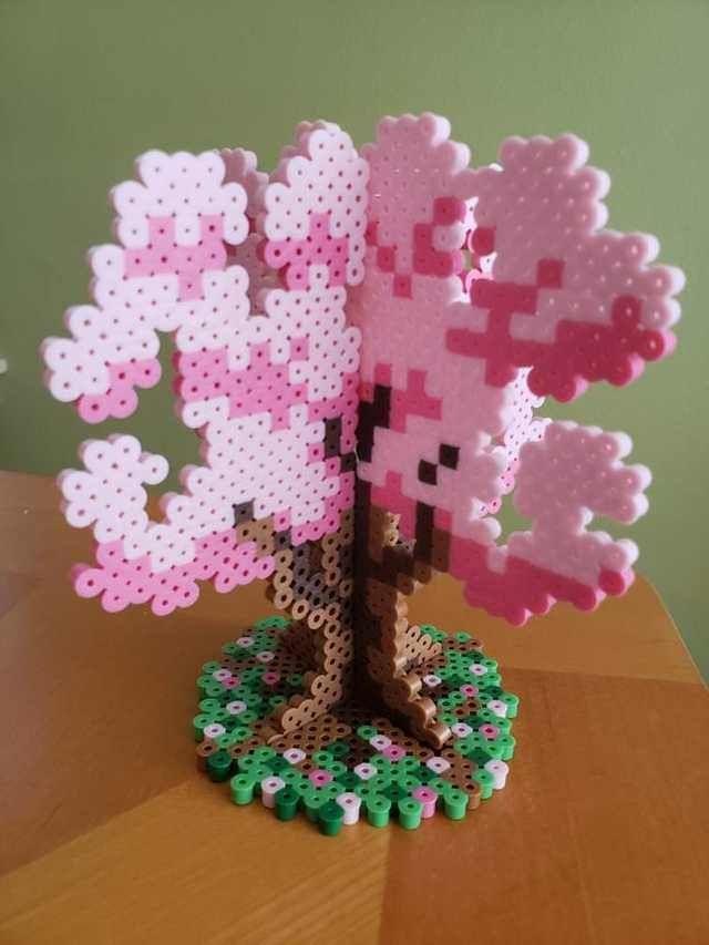 3D дерево з термомозаїки