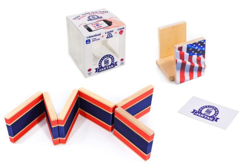 Деревянная головоломка-антистресс JakTak — КакТак (Америка)