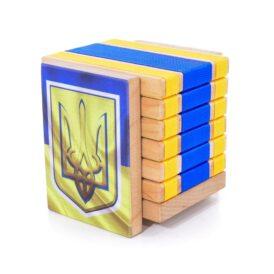 Дерев'яна головоломка-антистрес JakTak - КакТак (Україна)