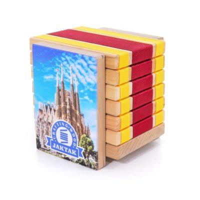 Дерев'яна головоломка-антистрес JakTak - КакТак (Іспанія)