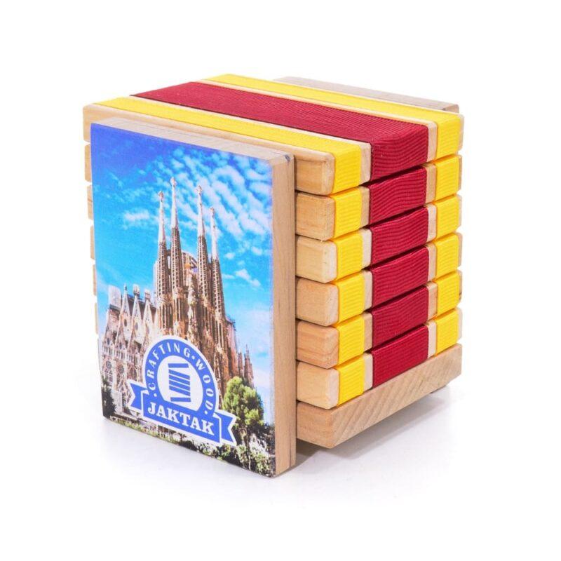 Деревянная головоломка-антистресс JakTak — КакТак (Испания)