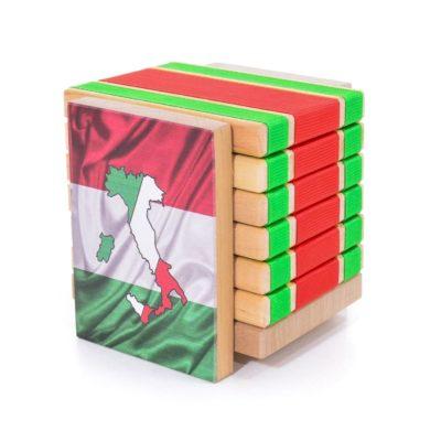 Дерев'яна головоломка-антистрес JakTak - КакТак (Італія)