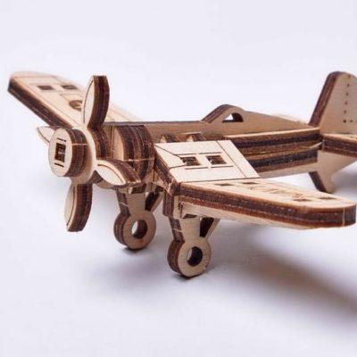 конструктор Wood Trick «Вудик - Самолет Корсар»