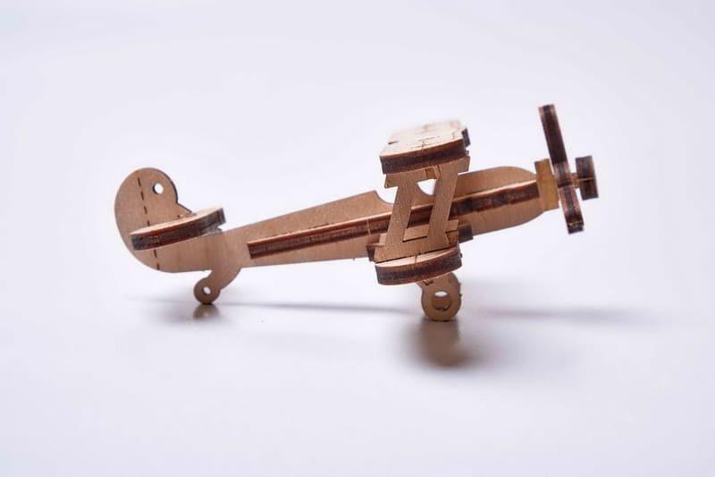 3D конструктор Wood Trick «Мини Самолет»