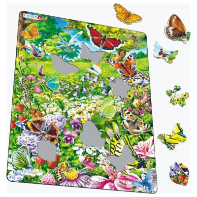 Пазл для детей Larsen «Бабочки»