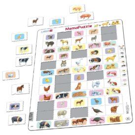 Пазл для детей Larsen «Животные и их детеныши»