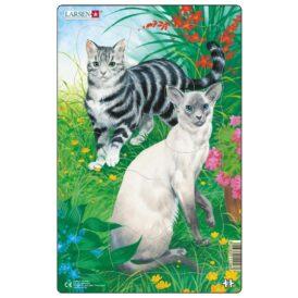 Пазл для детей Larsen «Гладкие коты»