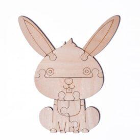 """3D пазл розфарбування Wood Trick """"Зайчик"""""""
