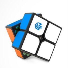 Магнітний кубик Рубіка 2x2 GAN 251 M кольоровий і чорний1