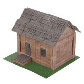 Керамический конструктор из кирпичиков домик