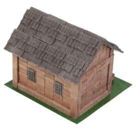 конструктор из мини кирпичиков домик
