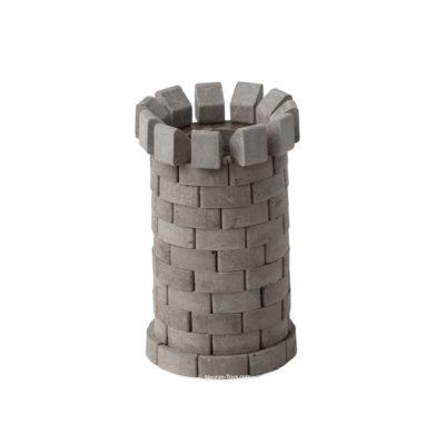 конструктор из кирпичиков круглая башня