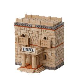 Конструктор з цеглинок готель