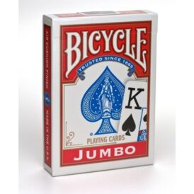 Bicycle Jumbo Index червоні 1