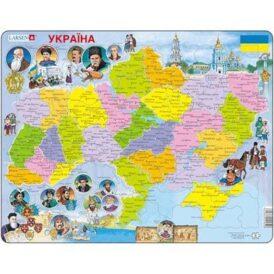 детский пазл larsen политическая карта Украины