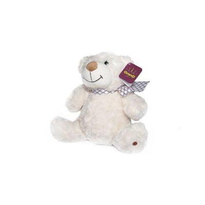 белый мягкий медведь