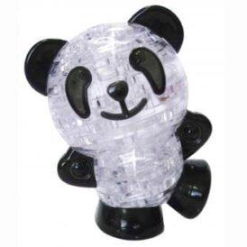 3D пазл из пластика панда