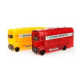 3D пазл из пластика автобус