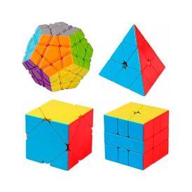 набір головоломок ск'юб пірамідка мегамінск