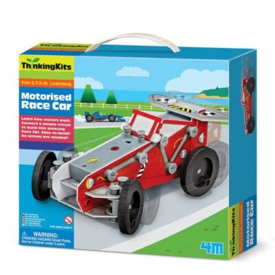 набор моторизованная гоночная машинка
