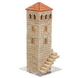 Керамічний конструктор з цеглинок вежа