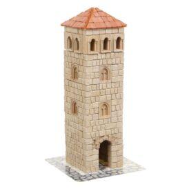 Керамический конструктор из кирпичиков башня