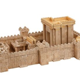 Конструктор из мини кирпичиков Иерусалимский храм