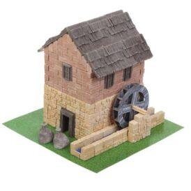 Конструктор из мини кирпичиков водяная мельница
