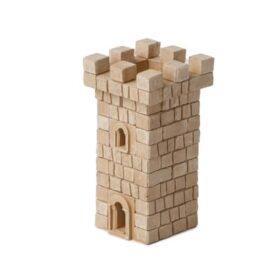Конструктор из мини кирпичиков башня