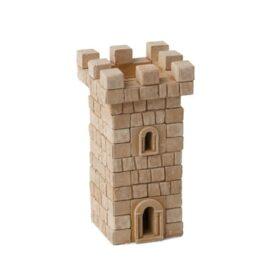 Конструктор з міні цеглинок вежа
