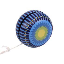 йо йо в металлическом корпусе синее
