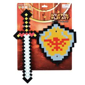 набір меч і щит пірати