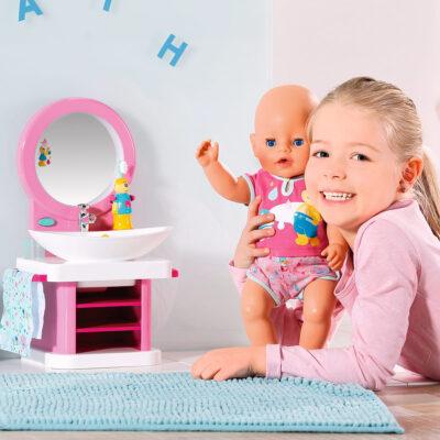 умывальник для куклы baby born