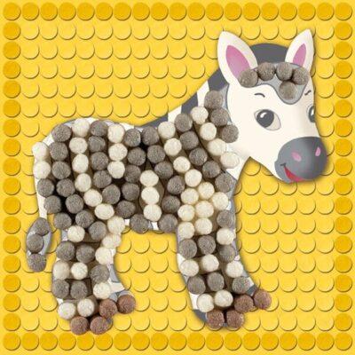 кукурудзяний конструктор мозаїка зоопарк
