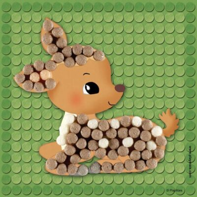 кукурудзяний конструктор мозаїка тварини