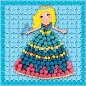 кукурудзяний конструктор мозаїка принцеса