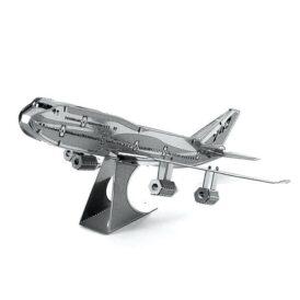 собранный Металлический 3D пазл боинг 747