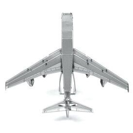 собранный металлический 3D пазл боинг 747 вид сверху