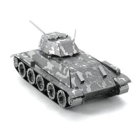 металлический 3д пазл танк Т 34