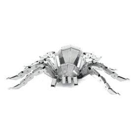 металлический 3д конструктор паук спереди